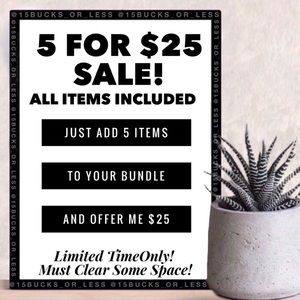 SALE!!!! All items included!